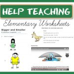 Help Teaching: Elementary Worksheets to Supplement Learning