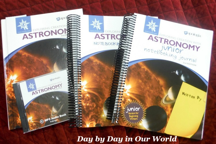 Exploring Creation with Astronomy Set of Homeschool Curriculum for Science From Apologia