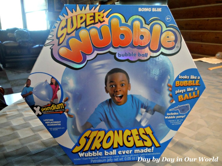 The SuperWubble Bubble Ball is a lot of fun for kids and adults.