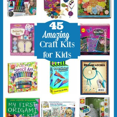 45 Amazing Craft Kits for Kids