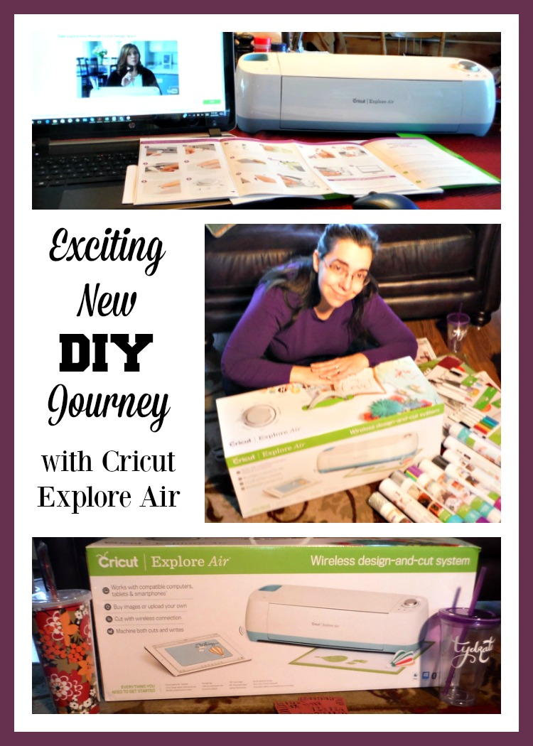 Embarking on an exciting new DIY journey with the Cricut Explore Air.