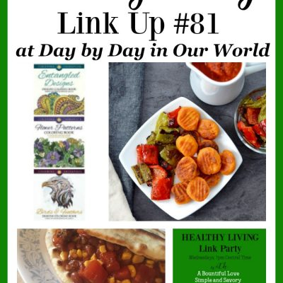 Healthy Living Link Party #81