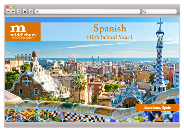 Middlebury High School Spanish I Fluency Grades 9-12.
