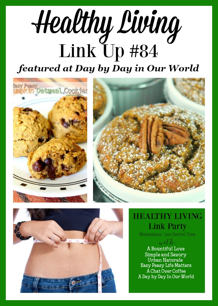 Pumpkin Oatmeal Cookies, Pumpkin NOatmeal and Low Carb Diets are all featured in Healthy Living Link Up #84.