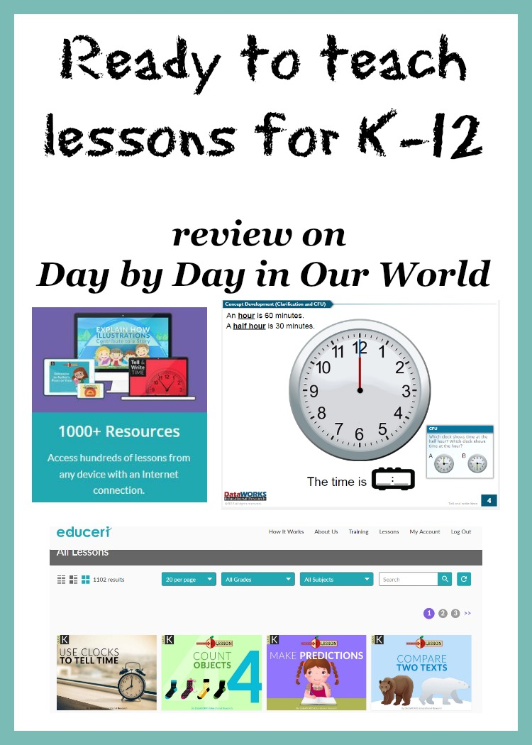 Need help planning what to teach and how? Ready to teach lessons for K to 12 from Educeri could help.