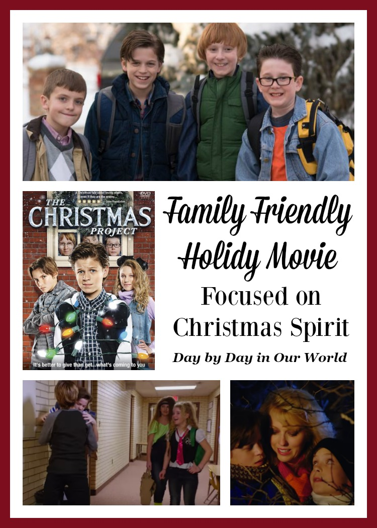 A Christmas Spirit.The Christmas Project Family Friendly Movie True