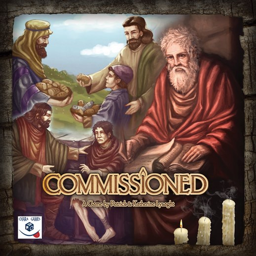 Commissioned is a cooperative strategy game where everyone works together to grow the church.
