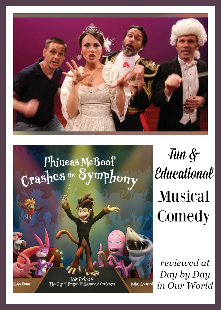 Doctor Noize presents Phineas McBoof Crashes the Symphony is a musical comedy which is both fun and educational.