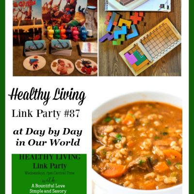 Healthy Living Link Party #87