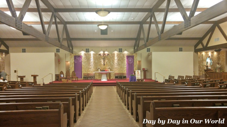 Inside my childhood parish in Louisiana