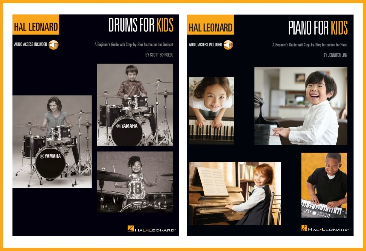 Learn Drums or Piano with Hal Leonard