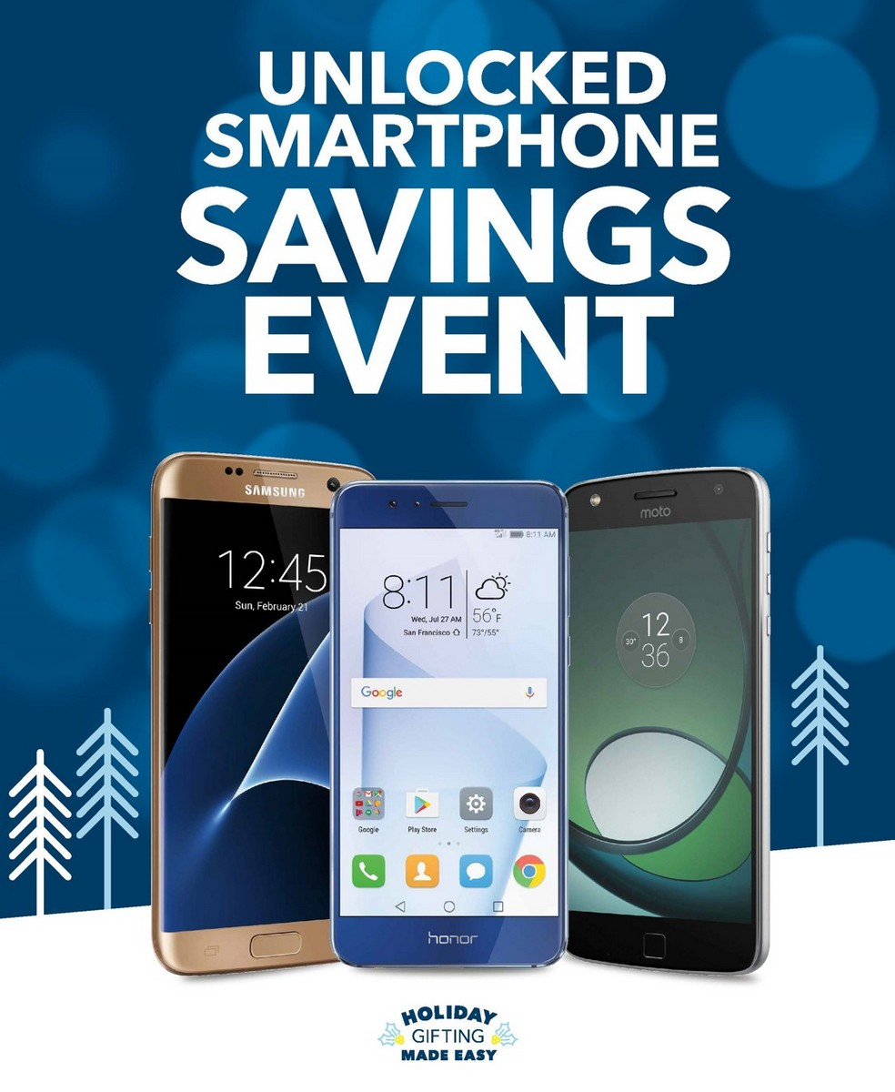 Score a great deal at the Unlocked Smartphone Savings Event at Best Buy in November 2016
