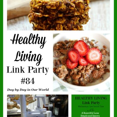 Healthy Living Link Party #86