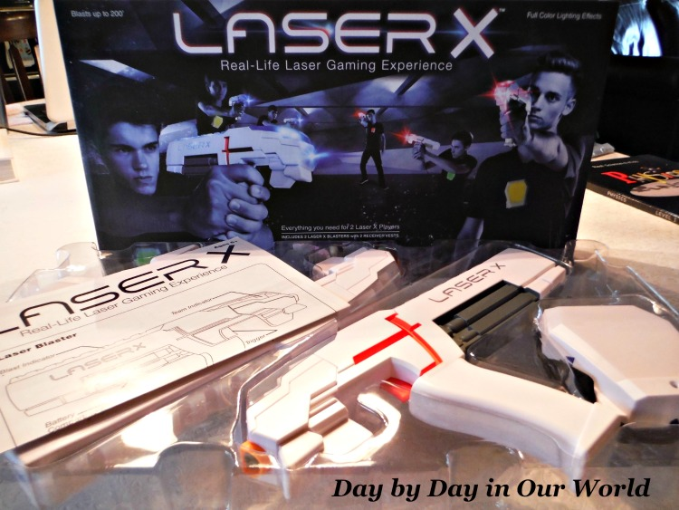 Real life laser gaming experience with Laser X.
