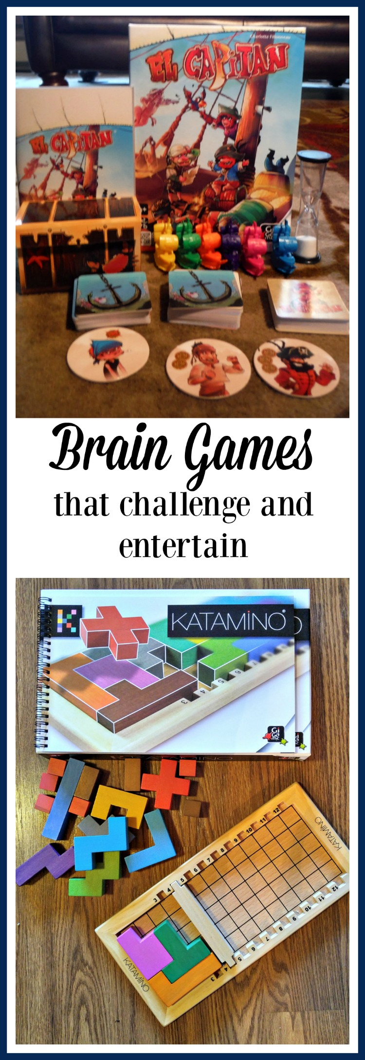 Want some new brain games that both challenge and entertain Check out these from Gigamic