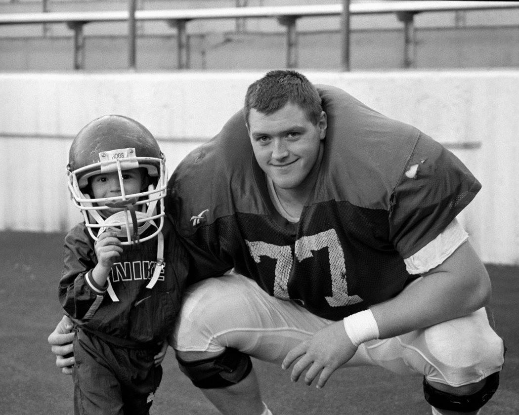 Brandon with his nephew Brady.