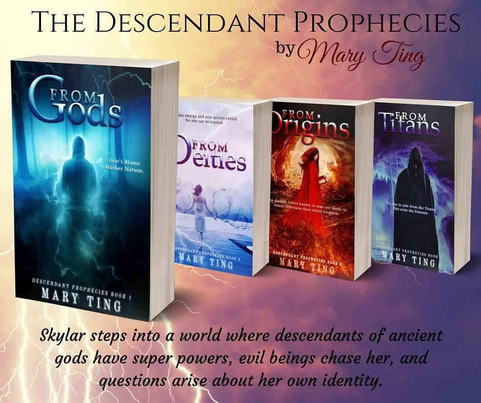The Descendant Prophecies by Mary Ting
