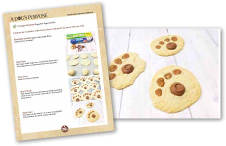 A Dogs Purpose Cookie Activity.