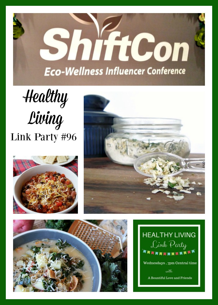 Healthy Living Link Party 96.