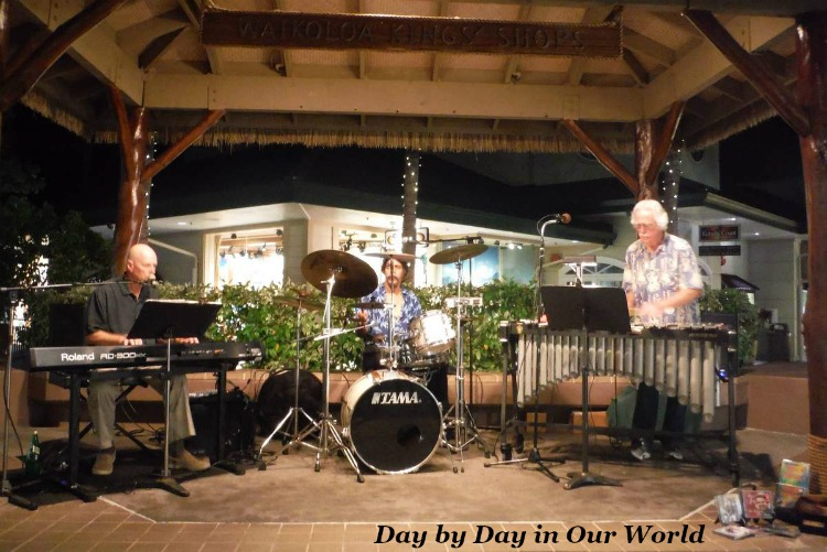 Tropical Vibrations Trio Kings Shops Free Concerts Waikoloa Beach Resort Community