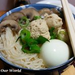 Celebrate Chinese New Year: Longevity Noodles with Chicken Meatballs