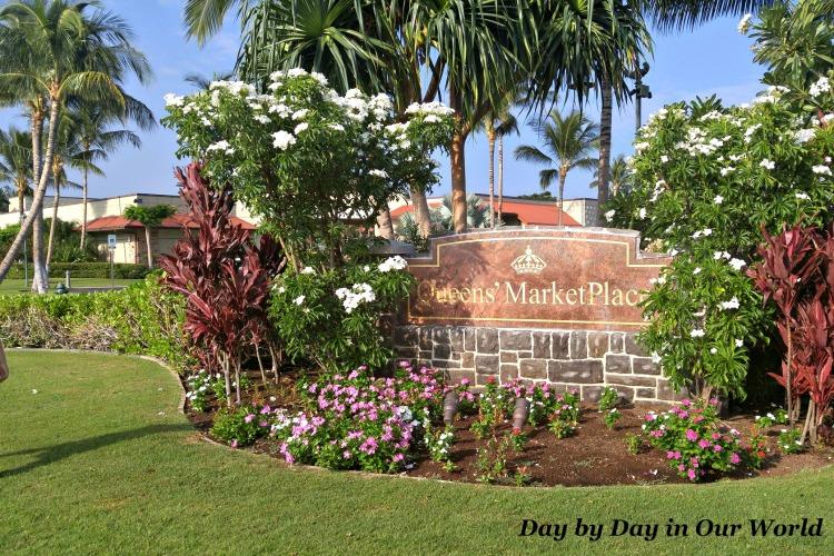 Queens Marketplace Waikoloa Beach Resort.