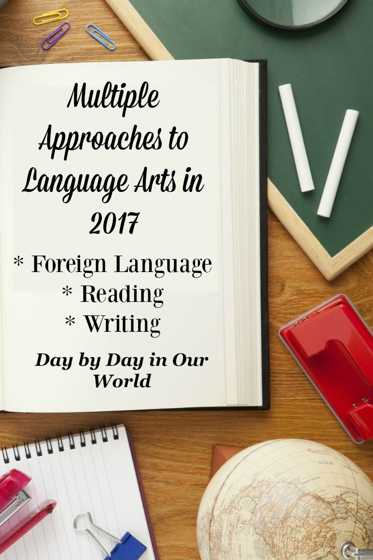 There are many components of Language Arts to cover. We share our current approach and past favorites for major areas of study.