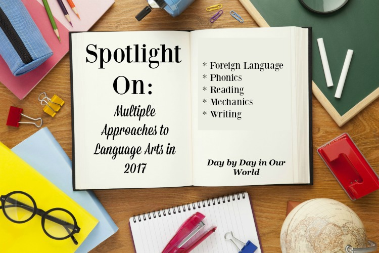 Spotlight on Multiple Approaches to Language Arts in 2017