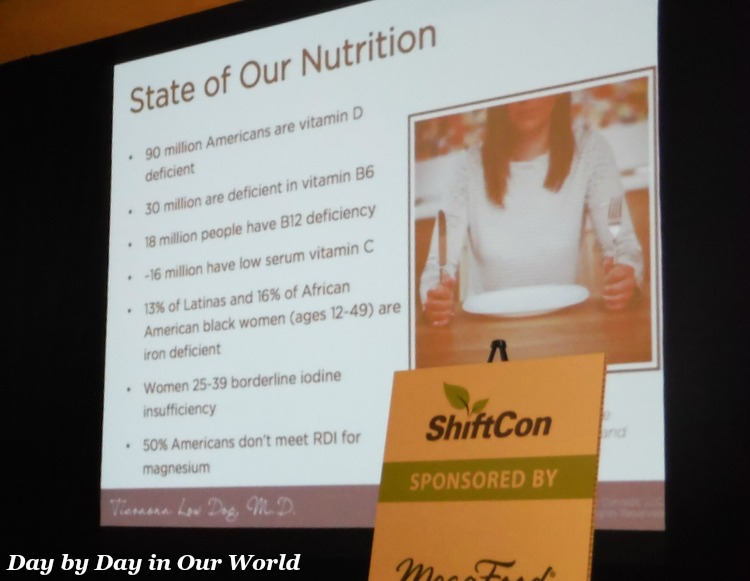 State of Our Nutrition from Fortify Your Life talk at ShiftCon 2016