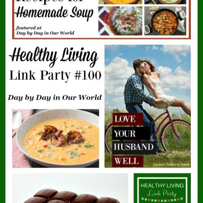 Healthy Living Link Party #100