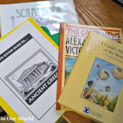 Home School in the Woods Ancient Greece Study