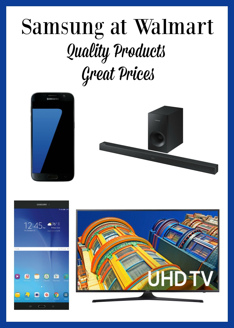 Need to update your technology without spending a lot? Check out the awesome Samsung Products available at Walmart.