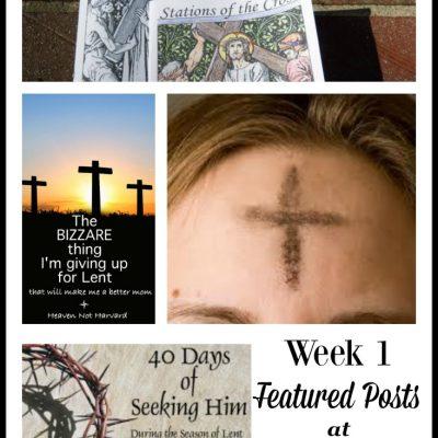 40 Days of Seeking Him Lent 2017 Week 1