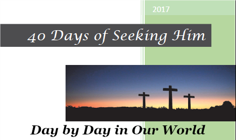 40 Days of Seeking Him Sampler Cover Image
