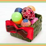 How to Make an Easter Basket from Palms