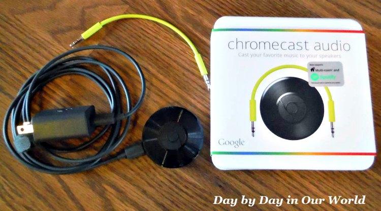 Google Chromcast Audio Components