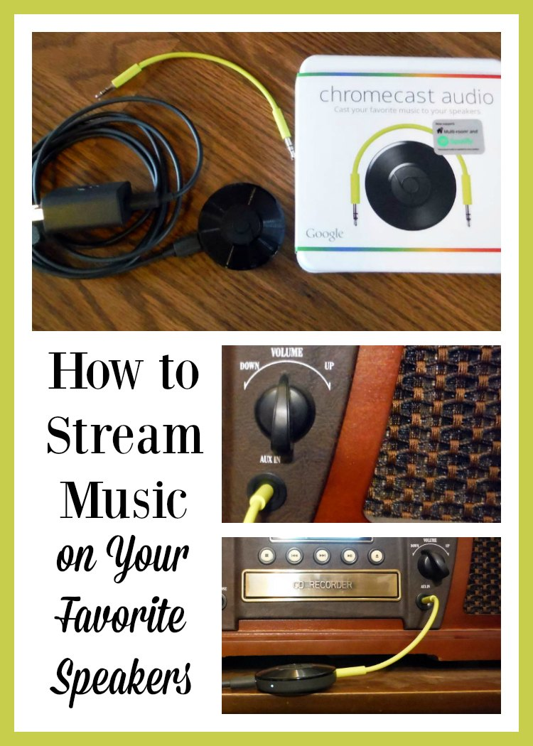 How to Stream Music on Your Favorite Speakers using Google Chromecast Audio.