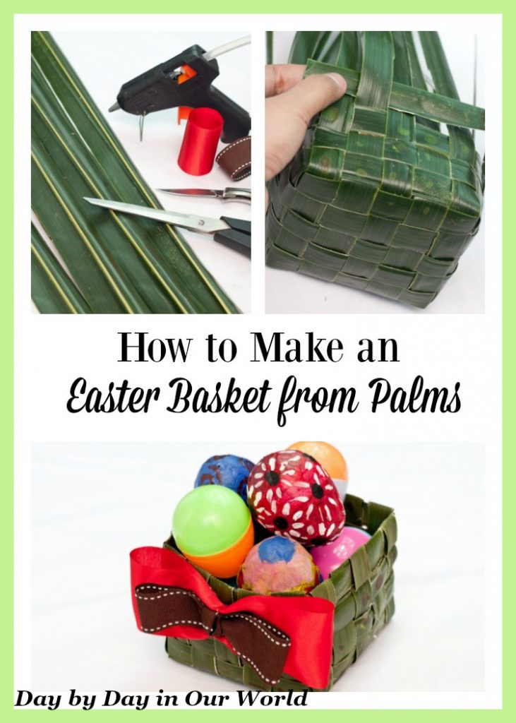 Learn How to Make an Easter Basket from Palms