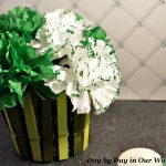 Make an Easy Clothespin Vase for St. Patrick's Day