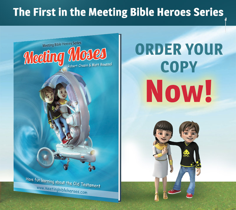 The title Meeting Moses is available for order now