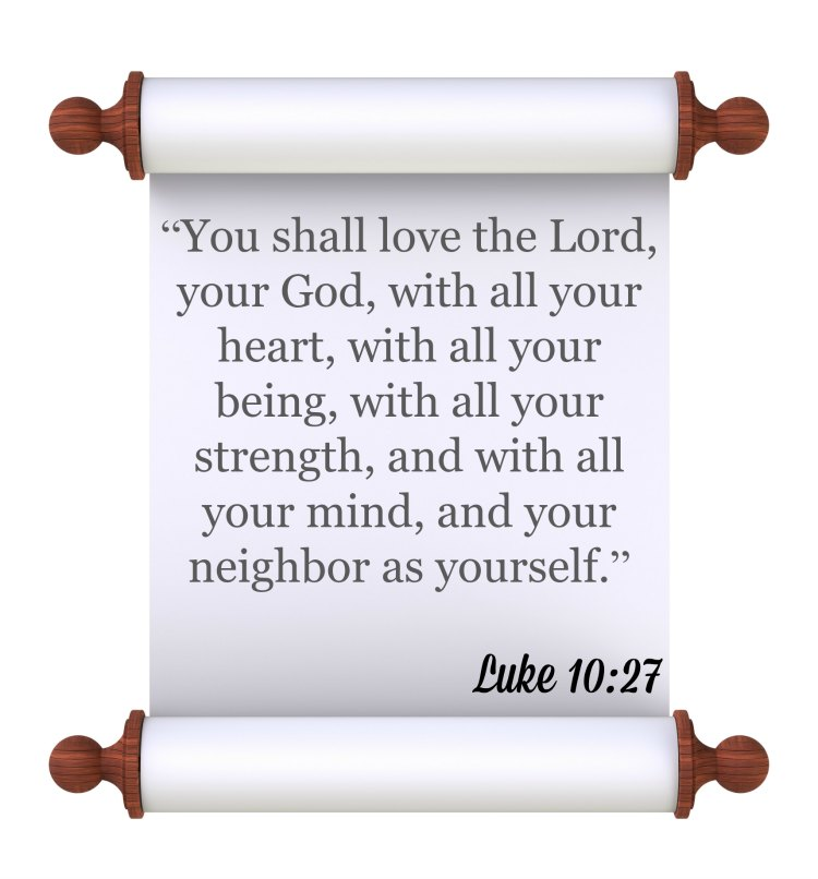Luke 10:27 The Greatest Commandment