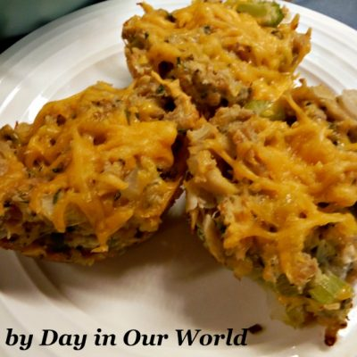 Tuna Melt Muffins: A Complete Entree You Can Hold
