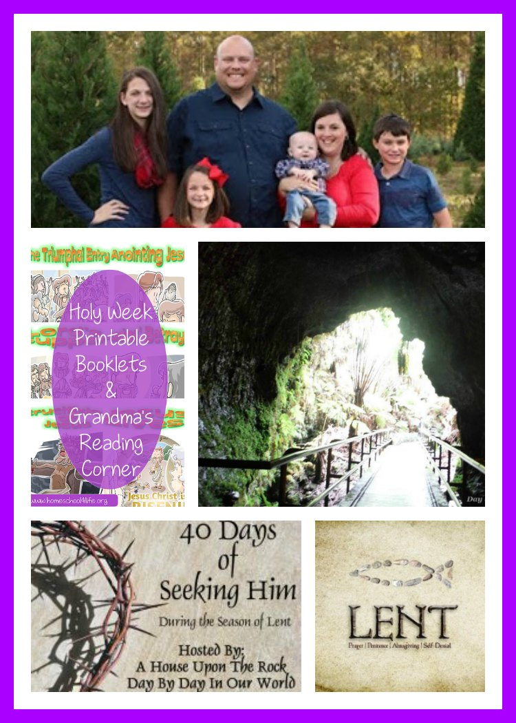 40 Days of Seeking Him Lent 2017 Week 5 Anchor Post with several featured post from Week 4.
