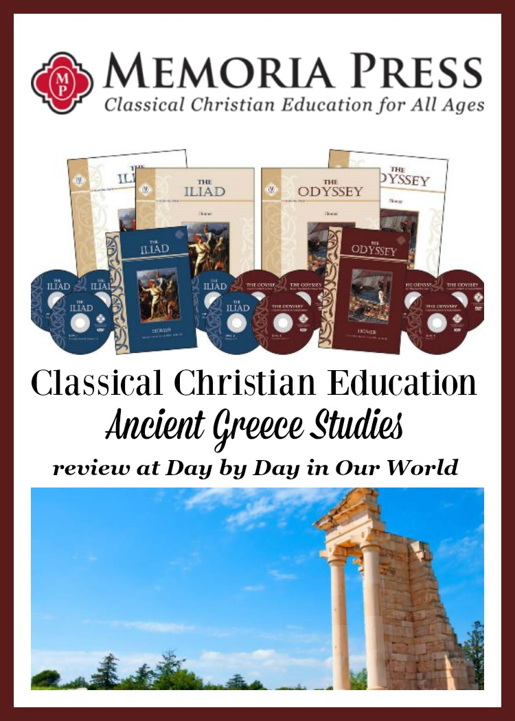 Classical Christian Education Approach for Iliad and Odyssey with Memoria Press