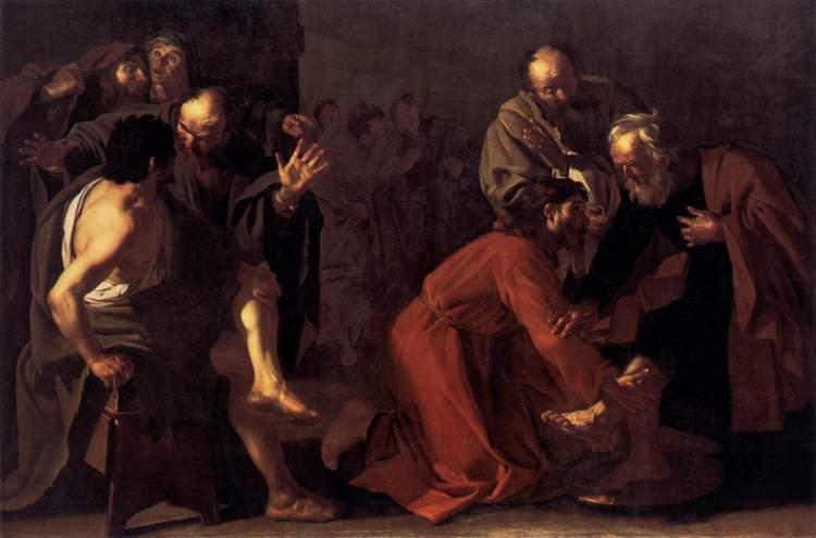 Christ Washing the Apostles Feet