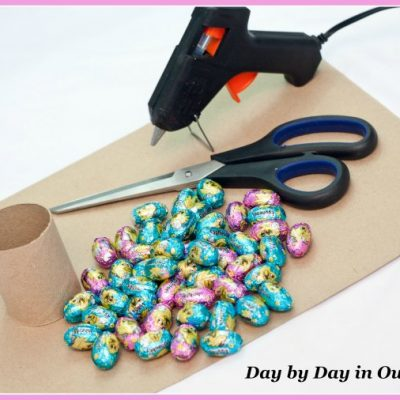 How to Make an Easter Egg Tree from Chocolate