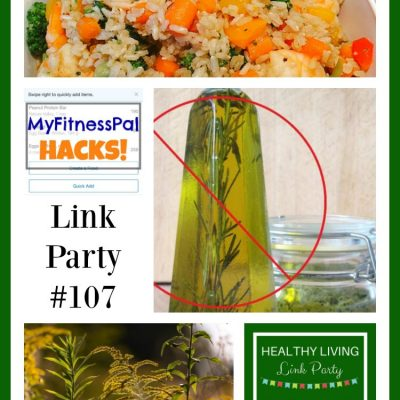 Healthy Living Link Party #107