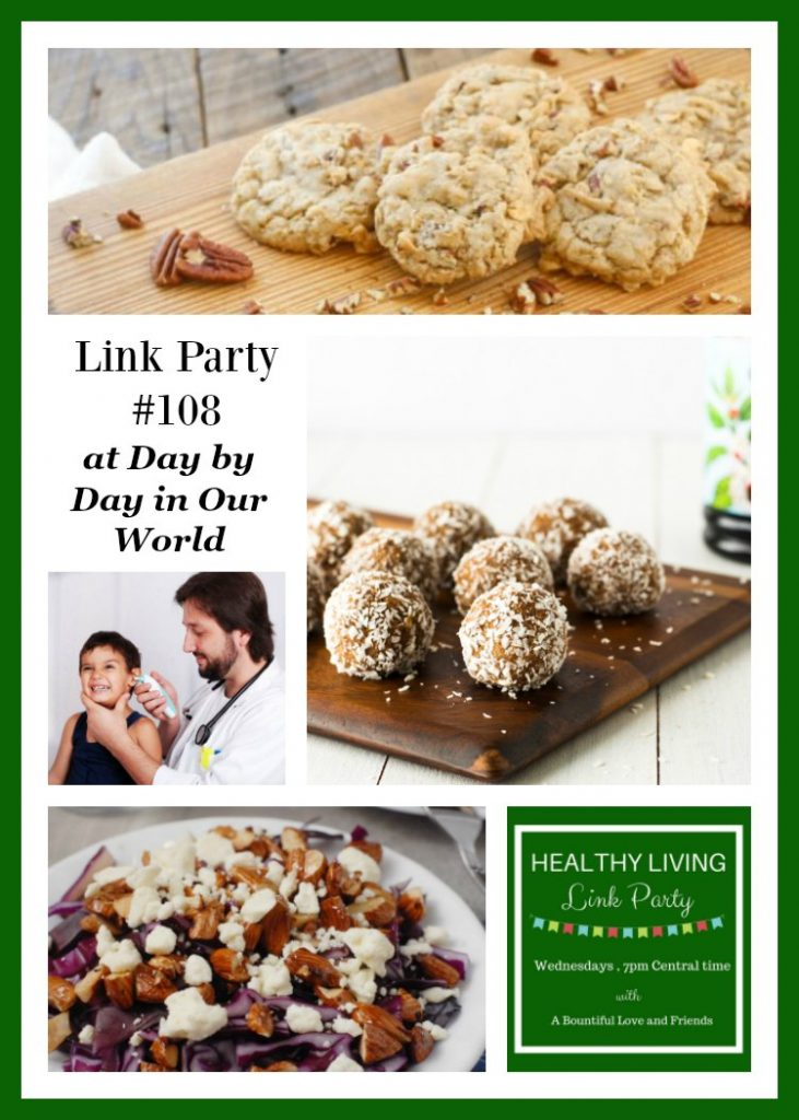 Healthy Living Link Party #108