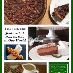 Healthy Living Link Party #109