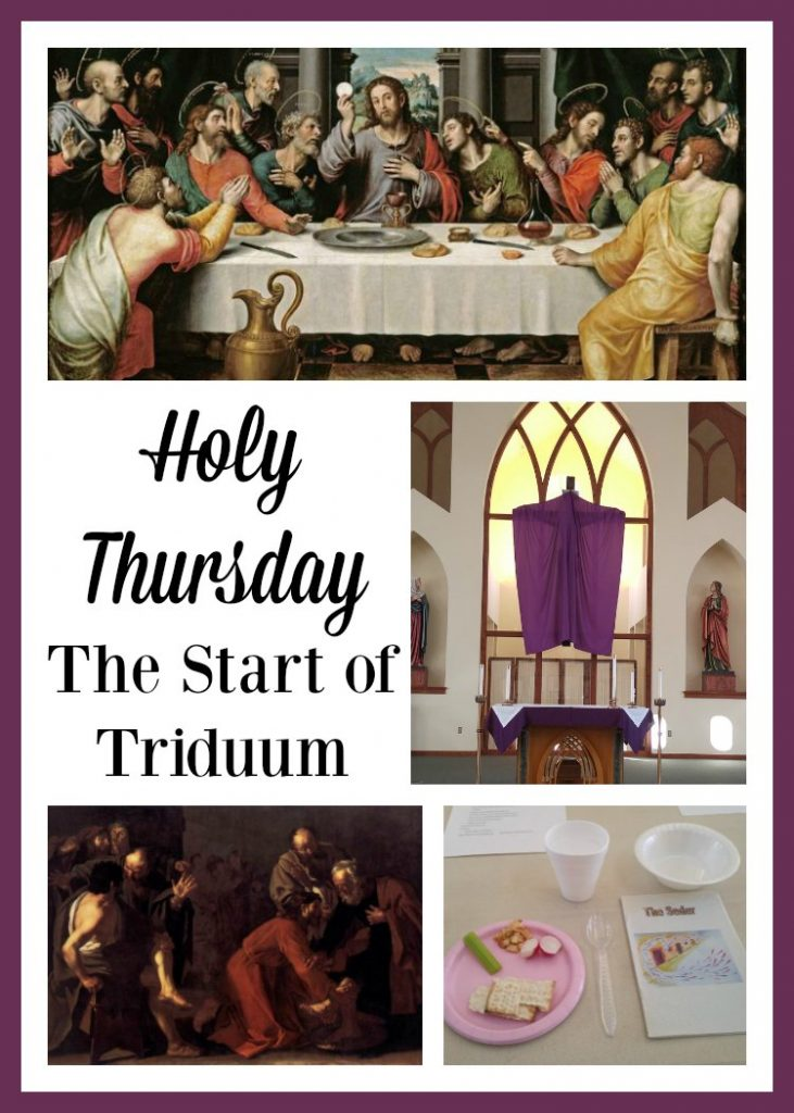 Holy Thursday marks The Start of Triduum. How are you celebrating the day?